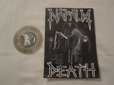 Napalm Death Clear Vinyl Single Rare