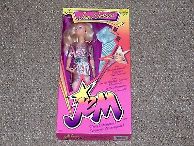 1987 Jem and the Holograms Original Jem/Jerrica Doll Brand New MIB Canadian