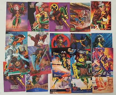 ROGUE - (X-MEN) - 20 trading cards