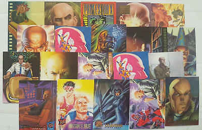 PROFESSOR X - (X-MEN) - 20 trading cards