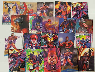 MAGNETO - (X-MEN) - 20 trading cards