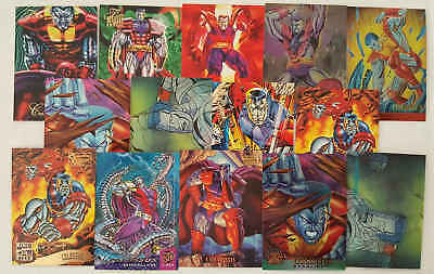 COLOSSO - (X-MEN) - 14 trading cards