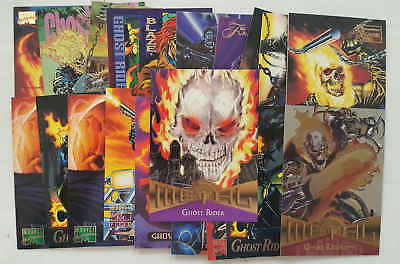 GHOST RIDER - set 20 trading cards