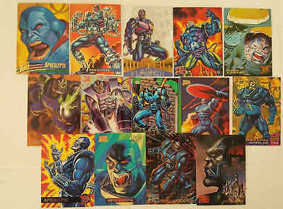 APOCALYPSE - (X-MEN) - 14 trading cards