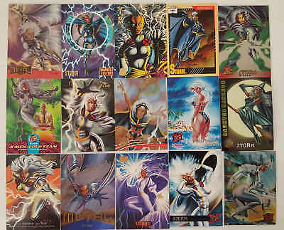 STORM - (X-MEN) - 15 trading cards