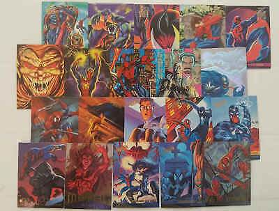 SPIDER-MAN - 20 trading cards