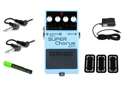 Boss CH-1 Super Chorus PRYMAXE PEDAL BUNDLE
