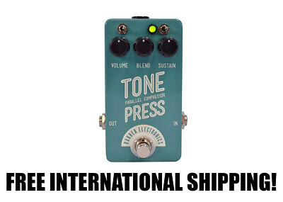 Barber Electronics Tone Press Parallel Compressor Mint Turquoise FREE INTNL SHIP