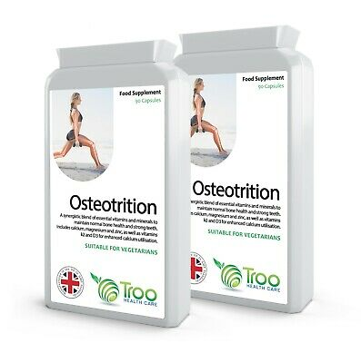 Osteotrition Bone Support Formula 180 Capsules (2 packs x 90)