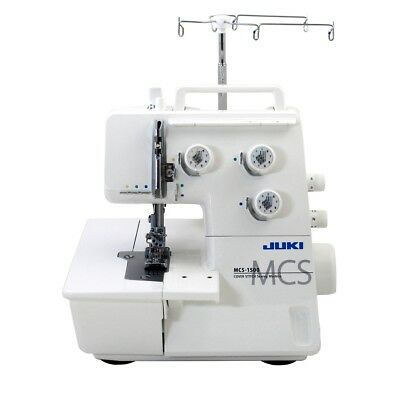 Juki MCS-1500 Cover & Chain Stitch Sewing Machine W/Free Bonus Needles