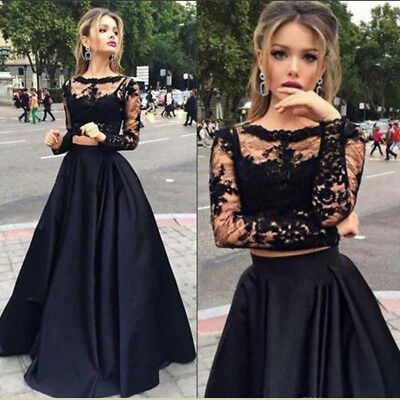 Formal Wedding Bridesmaid Long Evening Party Ball Prom Gown Cocktail Maxi Dress