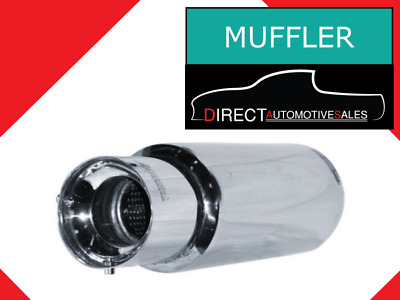 Sports Muffler with Removable Silencer 115mm Outlet / 73mm Inlet