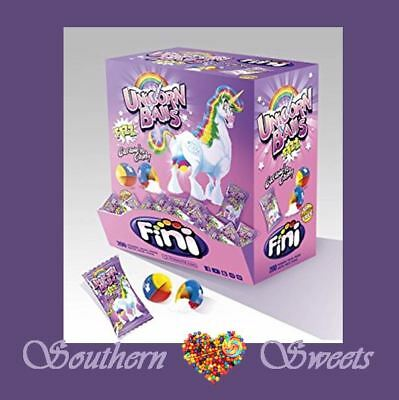 Unicorn Balls Fizzy Candy Lollies Girls Party Pink 200Ct Gluten Free Halal