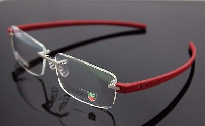 $550 Genuine TAG HEUER Reflex 3 Pure Rouge Cardinal EyeGlasses Frame TH 3942 012