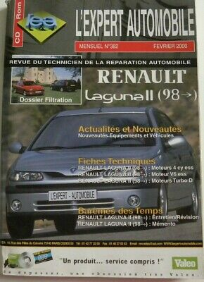 Revue technique automobile RTA RENAULT LAGUNA II  n°382