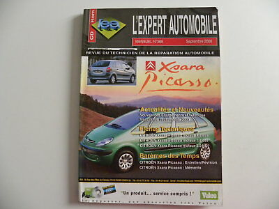 Revue technique automobile RTA CITROEN XSARA PICASSO  n°388