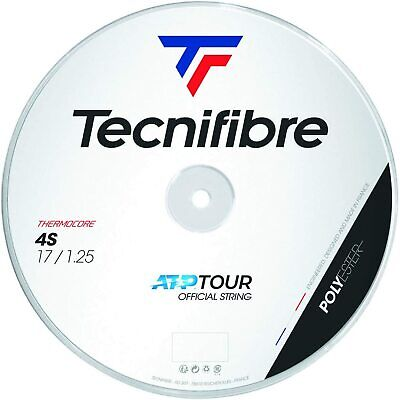 Tecnifibre Black Code 4S Tennis String - 200m - Reel 1.25mm / 17G  - Free UK P&P