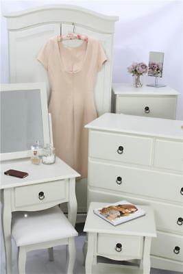 Maria Bedroom Furniture Set Wardrobe Table Chest Of Drawers Stool