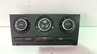 Saab 93 2003 - 2008 Climate Control Heater Switch Panel 12772891