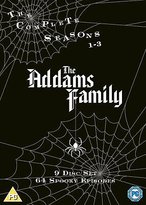 The Addams Family: The Complete Series (1964) (DVD)