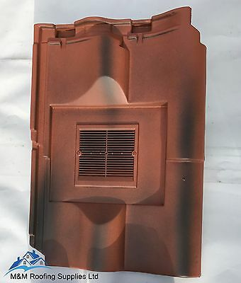 PANNE S / ROOF VENT / BURNT RED / LOW LINE VENT / Suit SINGLE or DOUBLE PANNE S