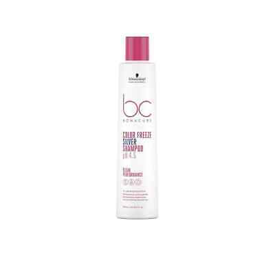 Schwarzkopf Bc Color Freeze Silver Shampoo 250 Ml