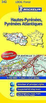 Hautes-Pyrenees, Pyrenees-Atlantiques (Michelin Travel Maps)