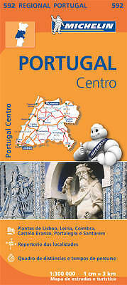 Portugal Centro (Michelin Road Atlases & Maps)