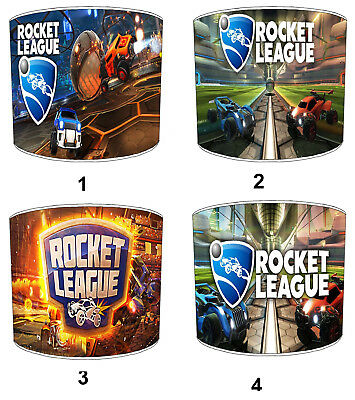 Rocket League Lampshades, Ideal To Match Rocket League Wall Decals & Stickers.