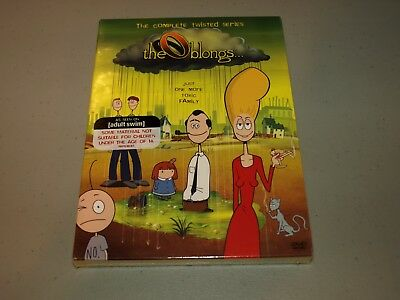 The Oblongs: The Complete Twisted Series DVD, 2005, 2-Disc Set ADULT SWIM    NEW