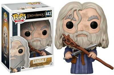 LORD OF THE RINGS/HOBBIT - GANDALF - Funko Pop! Movies: (2017, Toy NUEVO)