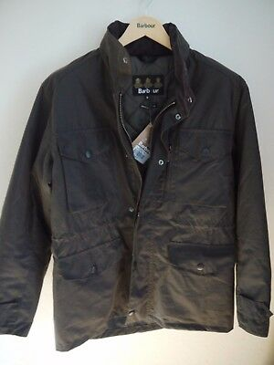 Barbour Men's Wax Sapper Jacket, Black, New With Tags, XXL