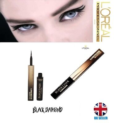 L'Oreal Paris Super Liner Luminizer Brown Eyes Eye Liner - Black Diamond