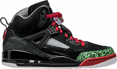 100% authentic 6ae94 3e0dc Air Jordan Spizike Mens Lifestyle Sneaker Black green red 315371-026 7.5-