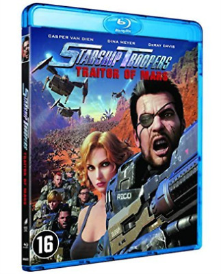 STARSHIP TROOPERS - TRAITOR OF MARS -  Blu Ray - Sealed Region B for UK