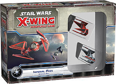 Fantasy Flight Star Wars X-Wing Imperial Aces Pack New Sealed FFGSWX21