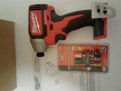 """NEW Milwaukee 2750-20 M18 Brushless 1/4"""" Hex Impact Driver TOOL ONLY+NUT SETTER"""