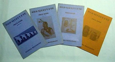 Old Sleepy Eye Price Guide . '74 . '76 . '78-'79 . '80-'81 . (4 Pamphlets)