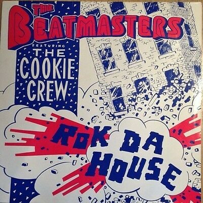 "THE BEATMASTERS - ROK DA HOUSE. classic old school 12"" er."