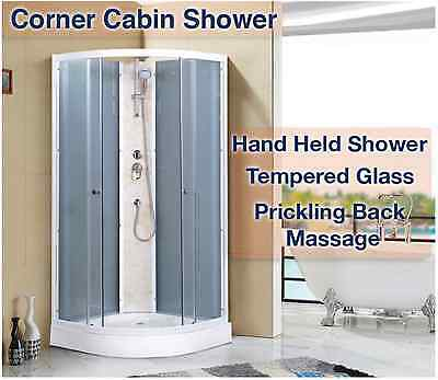 COMPLETE SHOWER CABIN SCREEN CUBICAL ENCLOSURE 900 x 900 x 2150mm (H)