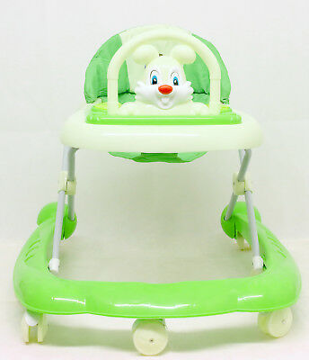 Baby Walker green  Activity First Steps Music Melody