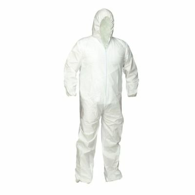 Dupont TY14127 ONE Tyvek Protective Coverall w/Hood elastic wrist & ankle 2X NEW