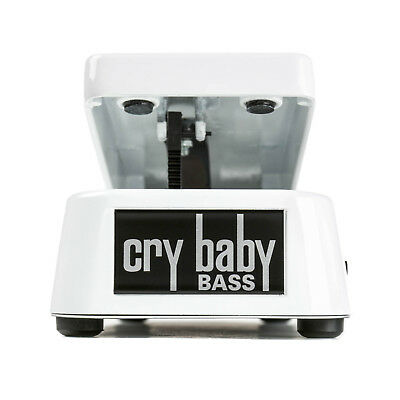 Dunlop CRY BABY BASS WAH 105Q Pedal, Brand New in Box