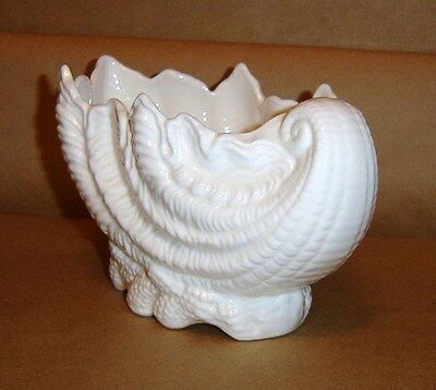 "Coalport 8"" Fine Bone China Porcelain Shell Bowl, England ~ Exc Condition"
