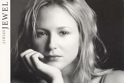 JEWEL Spirit postcard advertising her new album from 1998 NM/Mint condition