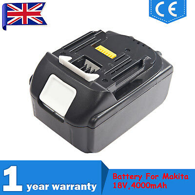 18V 4.0Ah Lithium Ion Li-ion Battery Replace For Makita LXT BL1840 BL1830 BL1815