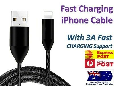 USB Lightning Charging Cable Data for Genuine Apple Charger iPhone iPad 6 8 7 11
