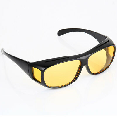 Unisex Night Vision Driving Anti Glare HD Glasses UV Wind Protection Eyeglasses