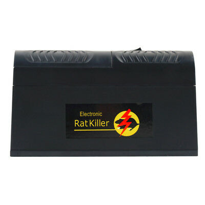 Rat Trap Electronic Mice Killer Electrocute Rodent Shock High Voltage Electric