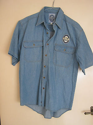 CUB Carlton Cold Filtered Bitter Cotton Shirt Size Small